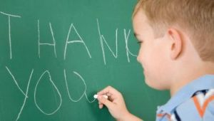 teaching children gratitude