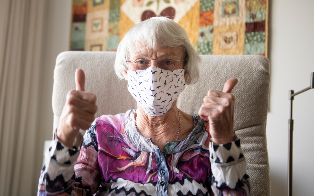 caring for the elderly during pandemic